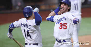 Dodgers Rally to Win N.L.C.S. and Reach 3rd World Series in 4 Years