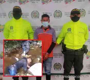 Cayó alias 'Pacho', presunto responsable de la masacre en Buesaco, Nariño - Diario del Sur