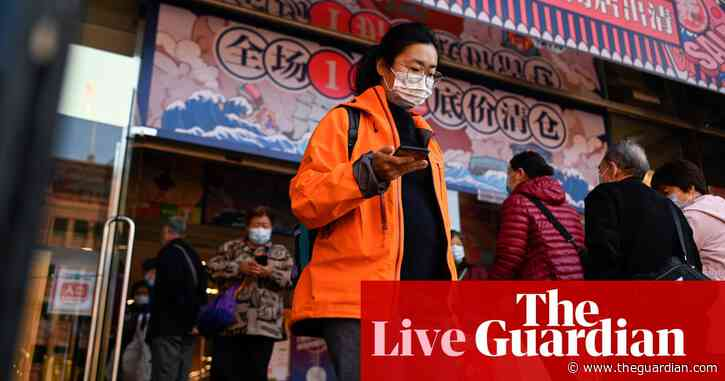 Global shares  rise on US stimulus and vaccine hopes, China data – business live