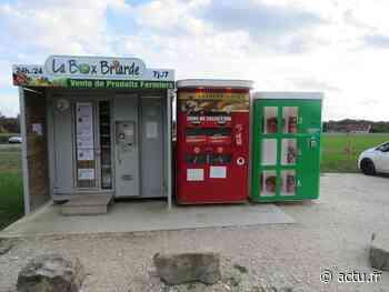 Seine-et-Marne. A Rozay-en-Brie, achetez vos bouquets au distributeur - actu.fr