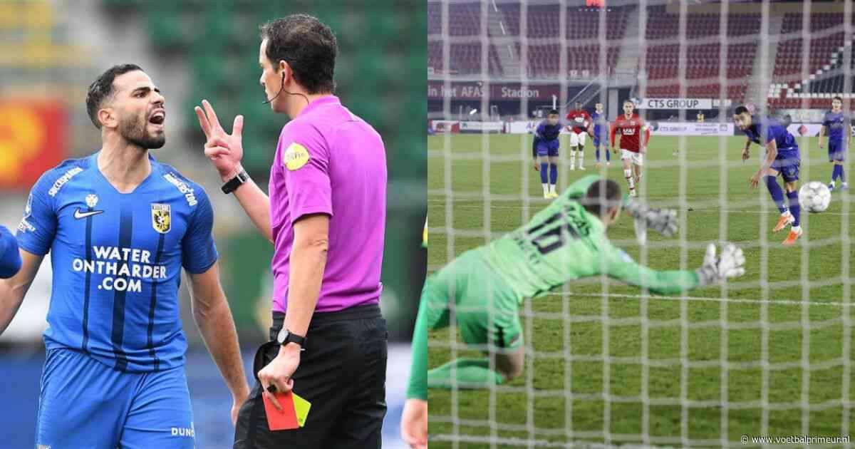 Dubbel Eredivisie-record lonkt: aantal penalty's en rode kaarten stijgt explosief