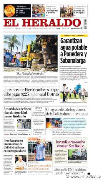 Garantizan agua potable a Ponedera y Sabanalarga - El Heraldo (Colombia)