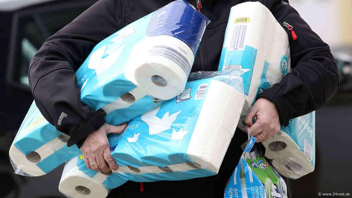 Toilettenpapier wird in Oer-Erkenschwick schon wieder knapp - 24VEST