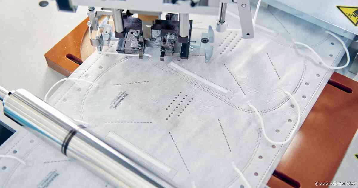 Firma aus Daun produziert masken in ihrem Werk in Sachsen - Trierischer Volksfreund