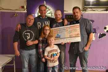 Benefiet levert 2.750 euro op voor door brand getroffen gezin