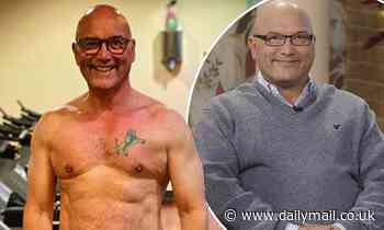 Gregg Wallace displays his muscular physique as he celebrates his 56th birthday