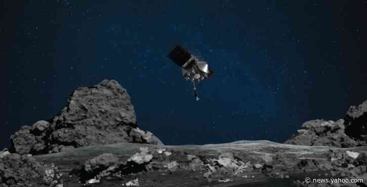 NASA's OSIRIS-REx will land on an asteroid to bring home rocks and dust – if it can avoid Mt. Doom
