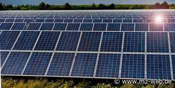 Stadtrat Quedlinburg stimmt für 25-Hektar-Solarpark an der A36: Bebauungsplan kann aufgestellt werden - Mitteldeutsche Zeitung