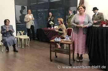 Lady Tyler lädt zum mörderischen Tee - Westfalen-Blatt