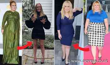Adele v Rebel Wilson weight loss: Which celebrity has lost more weight? - Express