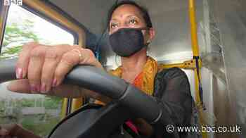 India coronavirus: The woman who ferries patients in a school bus