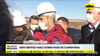 Abdo promete subsidio para Alto Parana oñepyrû jeývo cuarentena total - ABC Remiandu - ABC Color