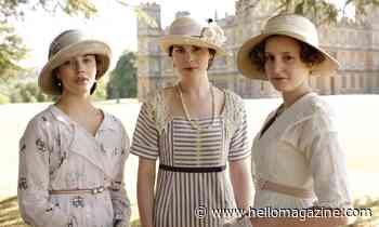 Jessica Brown Findlay gets nostalgic over friendship with Downton Abbey sisters Michelle Dockery and Laura Carmichael