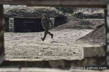 Tension and defiance in trenches of Karabakh