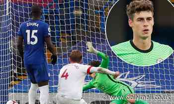 Former Blues striker Tony Cascarino believes Kepa is now the third choice keeper at Stamford Bridge