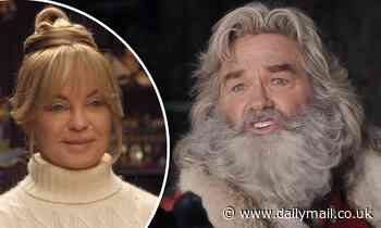Kurt Russell and Goldie Hawn return as Santa and Mrs. Claus in The Christmas Chronicles 2