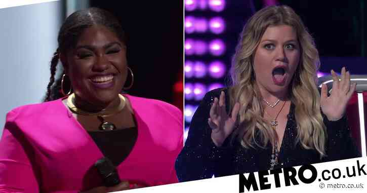 The Voice US: Kelly Clarkson and judges left stunned as contestant nails Lizzo's hit Cuz I Love You