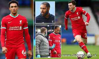 Liverpool may have to rein in their attacking full backs after Virgil Van Dijk injury
