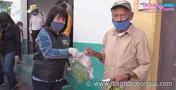 Dan apoyo alimentario en Emiliano Zapata - Diario de Morelos