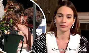 Lily James compares her image to real life in newly unveiled interview amid Dominic West scandal