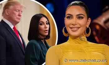 Kim Kardashian won't say who she's voting for in Letterman interview MONTHS before Kanye's campaign