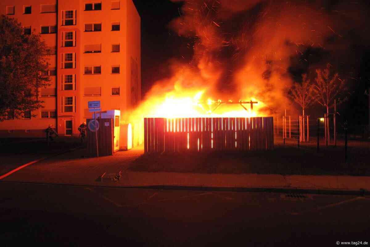 Brandserie im Neubaugebiet in Coswig: Zeugen gesucht! - TAG24
