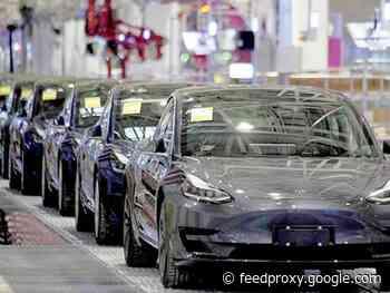 Tesla targets Germany, France for China-built Model 3 sedans