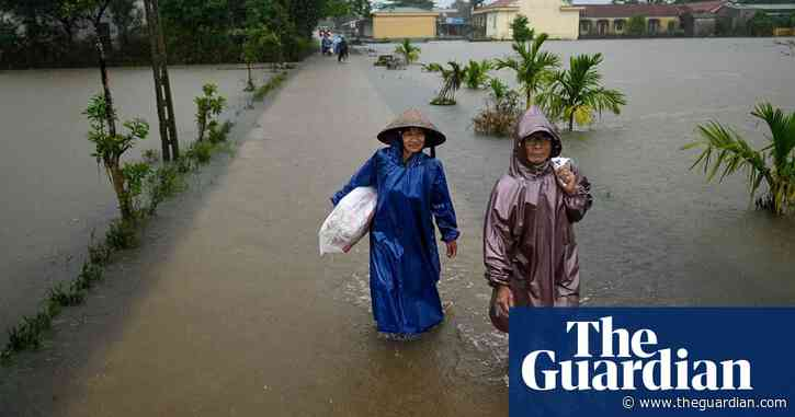 Vietnam floods and landslides displace 90,000 people as new cyclone nears