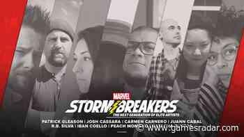 Sketchbook spotlighting Marvel's Stormbreakers artists on its way