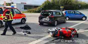 Schwerer Unfall im Norden: Motorrad kracht in Opel-Heck – Biker schwer verletzt - Hamburger Morgenpost