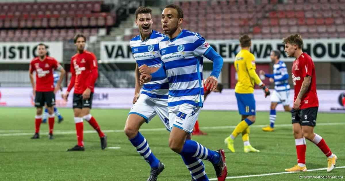 De Graafschap blijft bovenin KKD meedoen na matige wedstrijd tegen Helmond Sport