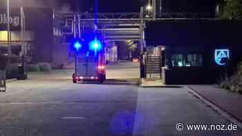 Container mit Chemikalien in Brand: Löschaktion in Haren - noz.de - Neue Osnabrücker Zeitung