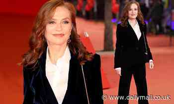 Isabelle Huppert, 67, shows off her age-defying beauty