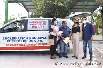 Empresario apoya con unidad móvil a Protección Civil de Matehuala - Código San Luis