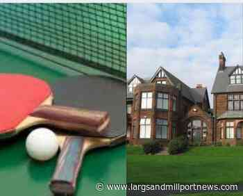 Table tennis suspended in West Kilbride - Largs and Millport Weekly News