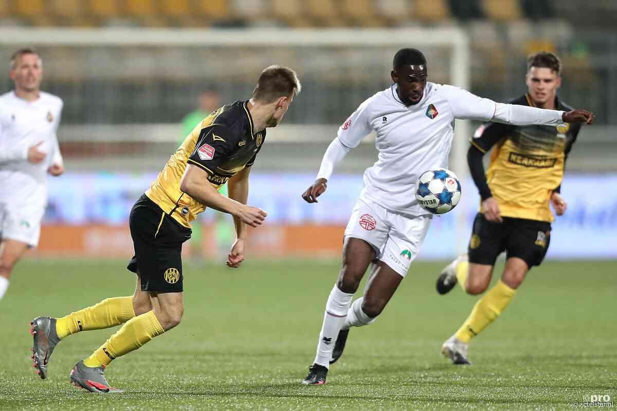 Telstar knokt zich terug in Limburg: 1-1