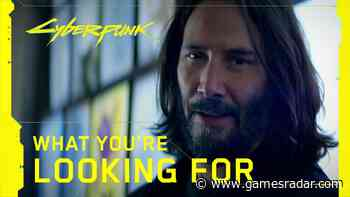 Cyberpunk 2077 is only a month away, so watch Keanu Reeves hype up Night City