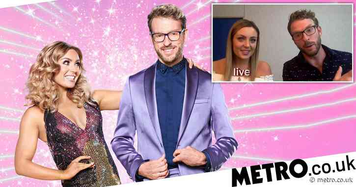 Strictly's JJ Chalmers and Amy Dowden say their health battles forged their close bond