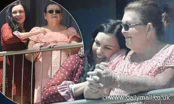 Schapelle Corby cuddles her mother Rosleigh Rose ahead of SAS Australia debut