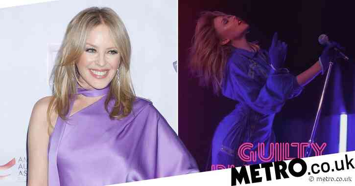 Kylie Minogue vows to take on full Glastonbury festival experience – including camping and mosh pits