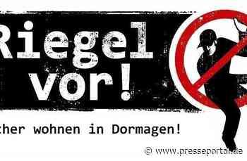 POL-NE: Zwei Wohnungseinbruchsversuche in Dormagen - Presseportal.de