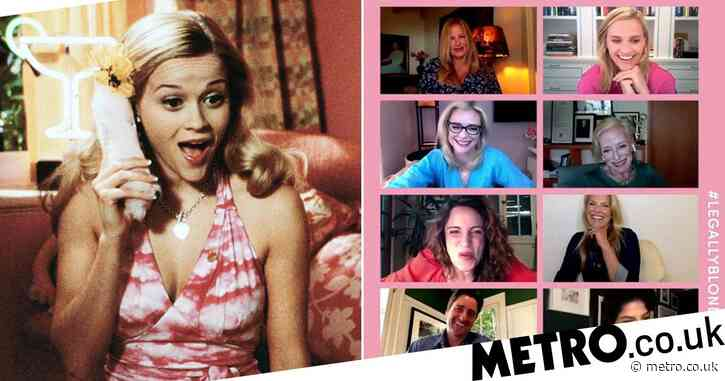 Reese Witherspoon teases  Legally Blonde reunion and we cannot contain our excitement