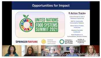 A wider view: At GOAL, focus steers to fisheries, food systems and the future « Global Aquaculture Advocate - aquaculturealliance.org