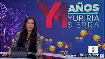Noticias con Yuriria Sierra| Programa completo 19 de octubre - Imagen Televisión
