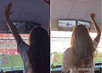 Looks Like Gisele Bundchen Had A Grand Old Time Watching Tom Brady And The Bucs Crush The Packers - BroBible