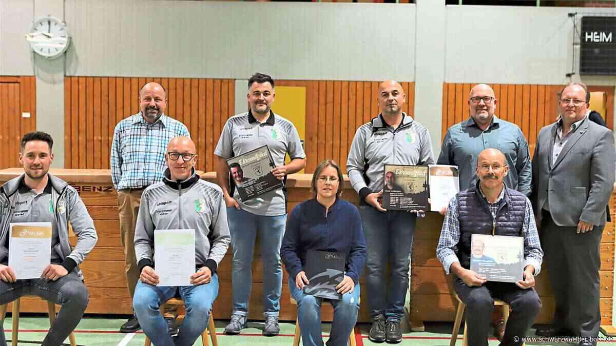 Dotternhausen: Drei neue Ehrenmitglieder beim SV - Dotternhausen - Schwarzwälder Bote