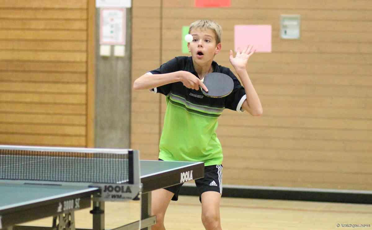 TSV Diedelsheim e.V.: Tischtennis-Jugend siegt mit 7:3 in Ruit - kraichgau.news