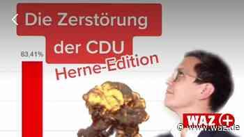 Herne: TikTok-Video von SPD-Vorsitzendem irritiert die CDU - Westdeutsche Allgemeine Zeitung