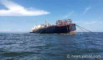 An idle Venezuelan tanker with millions of gallons of oil is creating panic in Trinidad