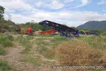 Maquinaria hurtada en La Dorada fue recuperada en Ambalema - Ecos del Combeima